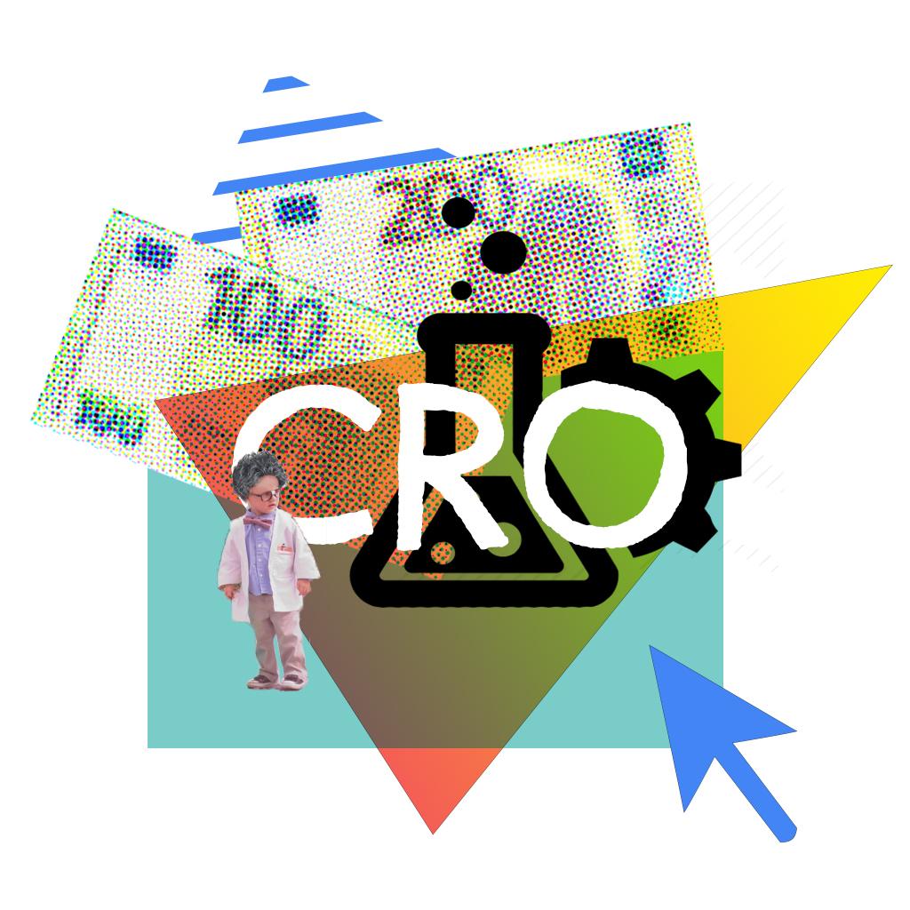 Digitale collage - Expertise CRO op de Duitstalige markt - ©DACHpilot