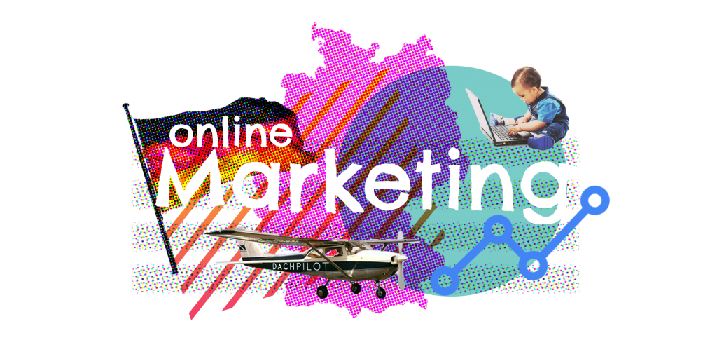 Illustratie - Online Marketing in Duitsland - DACHpilot