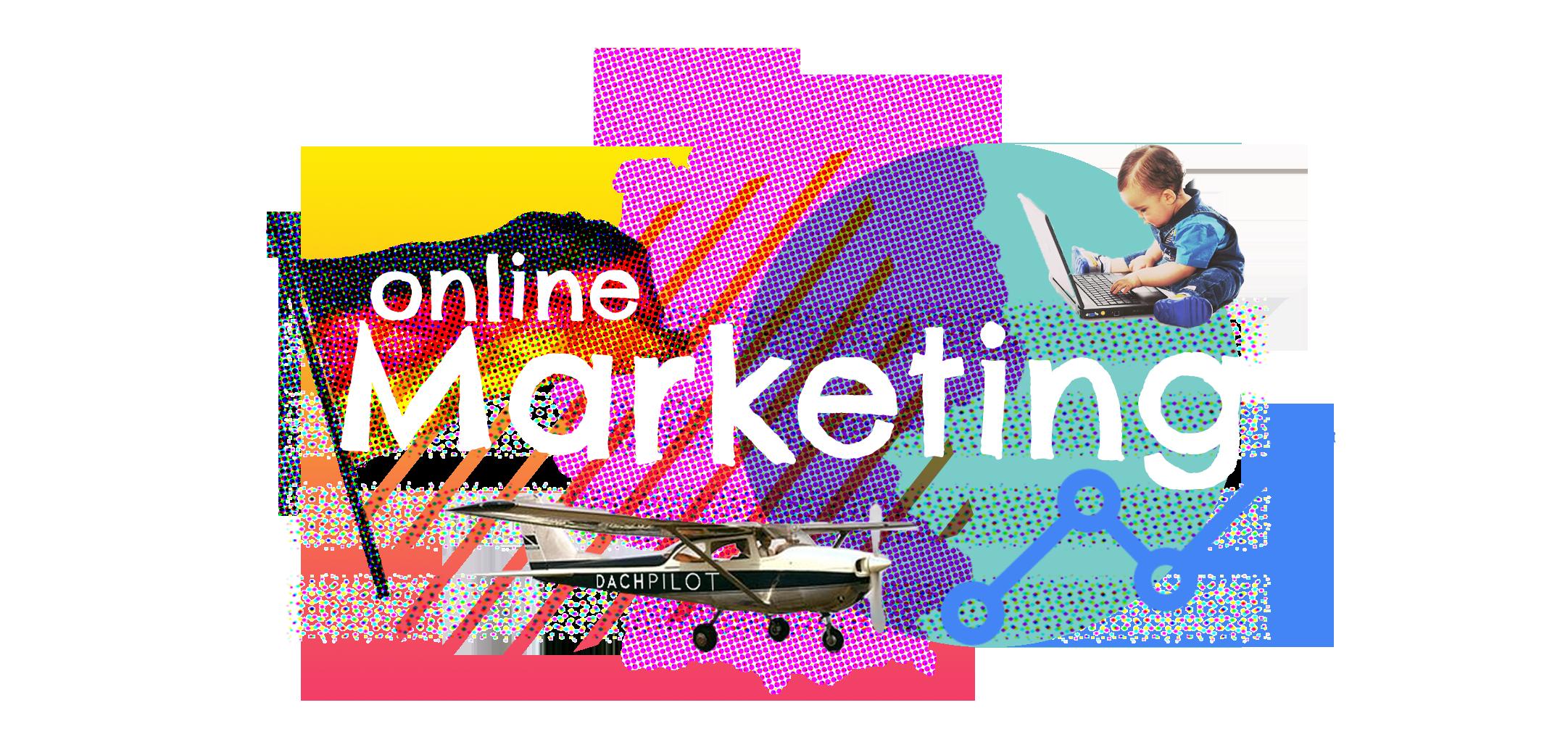 Illustratie online marketing in Duitsland - ©DACHpilot